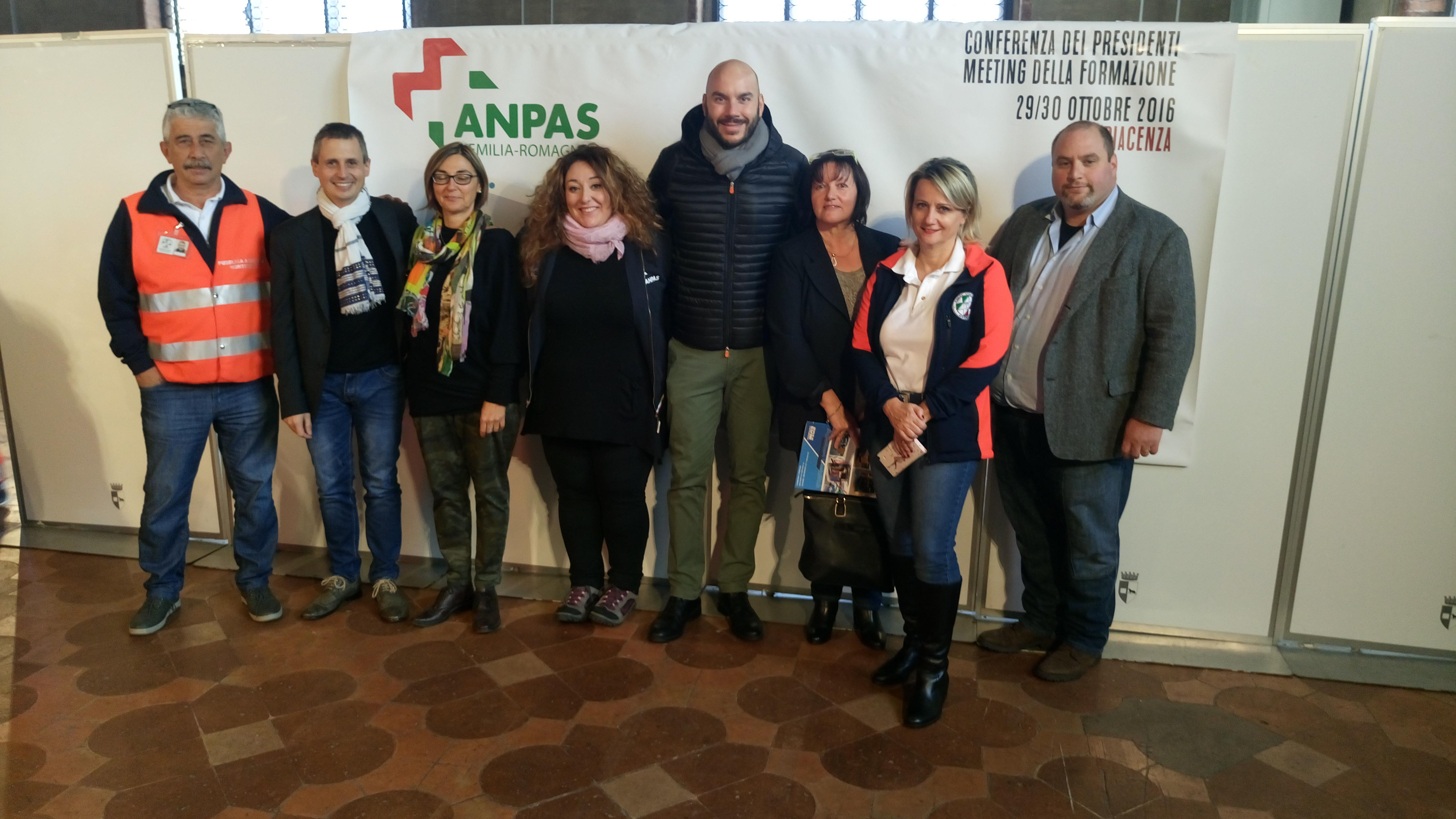 Conferenza Presidenti ANPAS Emilia Romagna