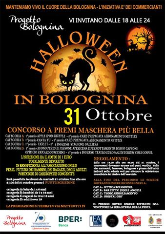 Festa di Halloween in Piazza dell'Unità